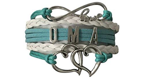 Oma Bracelet, Oma Jewelry, Grandma Jewelry Makes Great Grandma Gifts