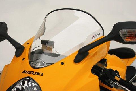 Sportech GP Windscreen Clear for Suzuki GSXR 1000 05-06 - Sportech Windshield
