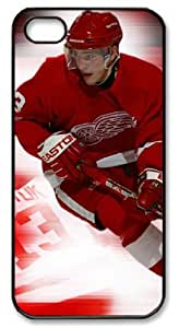 icasepersonalized Personalized Protective Case for iPhone 5 - NHL Detroit Red Wings #13 Pavel Datsyuk by mcsharks