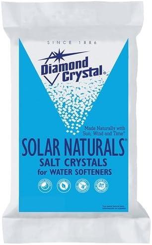 2. Solar Naturals Water Softening Salt, 50 lbs.
