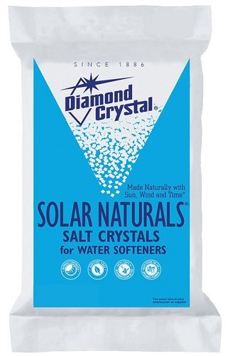 Diamond Crystal 804017 Solar Naturals Water Softener Salt, 50 Lbs by Diamond Crystal