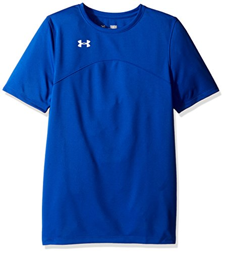 Under Armour Boys' Golazo Soccer Jersey, Royal /White, Youth