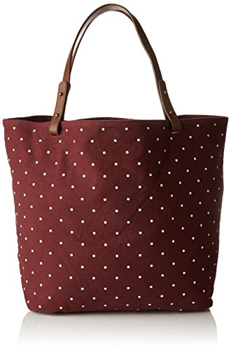 Petite Mendigote Clea Dots - Bolsos bandolera Mujer Rojo (Cherry)