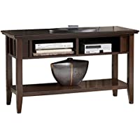 Ashley Furniture Signature Design - Logan Console Sofa Table - Contemporary - Dark Brown