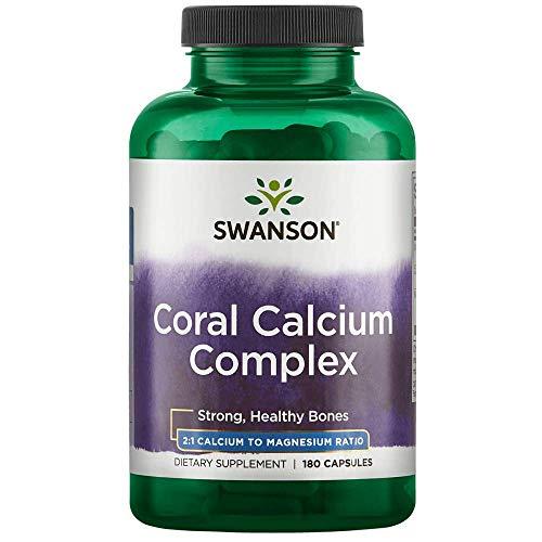 Swanson Coral Calcium Complex 180 Capsules