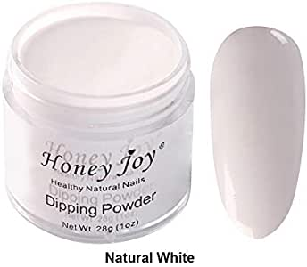 28g/Box Dipping Powder French Manicure Pink and White Clear Transparent Starter Kit Dip Powder Nails No Cure,0.98oz per box, HJ-ND064B-Natural White