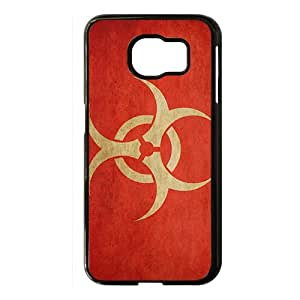 Minimalistic radioactive artwork logos Phone case for Samsung galaxy s 6