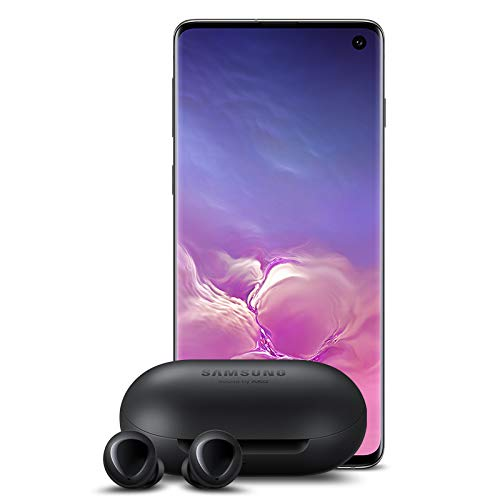 Samsung Galaxy S10 Factory Unlocked Phone with 512GB (U.S. Warranty), Prism Black w/Galaxy Buds