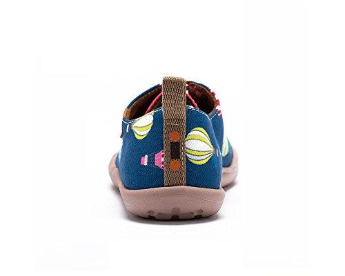 Chaussures Uin Nager Età Mode Dans Pour Casual Toiles Le De adolescent Bleu La Enfant fwBIwq
