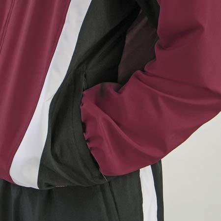 Amazon.com: adidas Adistar Warmup – Chaqueta, color granate ...