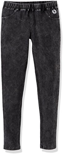 Kid Nation Girls' Cotton Stretch Washed Knit Pull-On Jegging