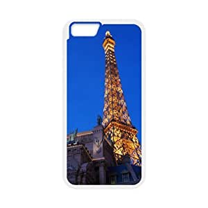 Yearinspace eiffel tower 5 iPhone 6 Cases, Men Cool Apple Iphone 6 Case {White}