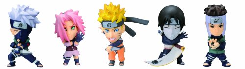 Heroes Naruto Shippuden 1BOX Charapedia - Taille :40mm