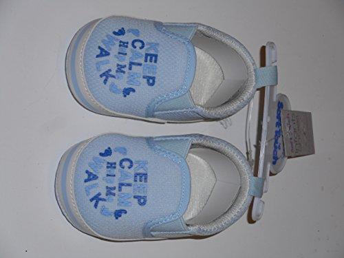 Chaussures bébé garçon–Bleu–6/12mois