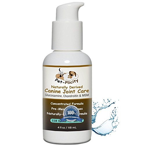 Plicity Glucosamine Dogs Chondroitin 4 Ounce product image