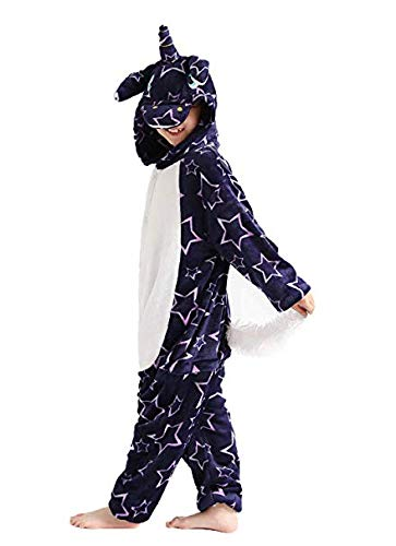 Kids Unicorn Onesie Costumes Girls Halloween Cosplay Animal One-Piece Pajamas