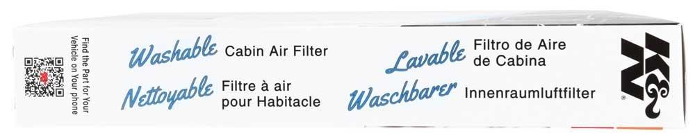 2 PER BOX VF3016 K/&N CABIN AIR FILTER Cabin Air Filters