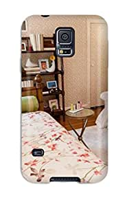 Design Pink Patterned Covers Walls And Ceilings In This Tween Girls Bedroom Hard For Case Ipod Touch 5 Cover