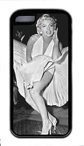 iphone 5/5s iphone 5/5s/ipad iphone 5/5s - iphone 5/5s iphone 5/5s Case DIY - DIY iphone 5/5s iphone 5/5s Case cover Marilyn Monroe PC Black Case-MMipad iphone 5/5sTB068