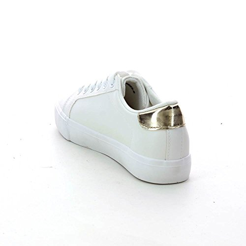Go Tendance - Zapatillas de Deporte de Material Sintético Mujer dorado