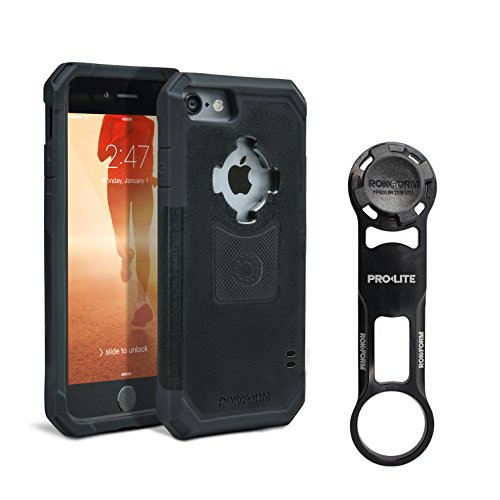 Rokform [iPhone 7 & 8] PRO-LITE Aluminum Bike Mount/Holder & Protective Phone Case, Twist Lock & Magnetic Security by Rokform