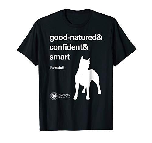 T-shirt Kennel - American Kennel Club Dog Breed Attributes AmStaff T-Shirt