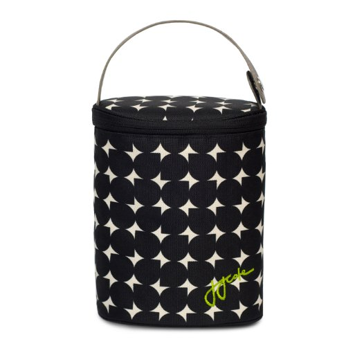 JJ Cole Bottle Cooler, Silver Drop - Route Insulated Baby Bottle