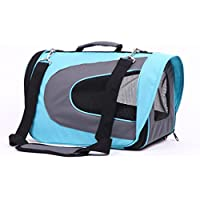 LUXEHOME Soft Sided Travel Pet Carrier Duffle Bags, Pet Travel Portable Bag Home for Dogs, Cats and Puppies