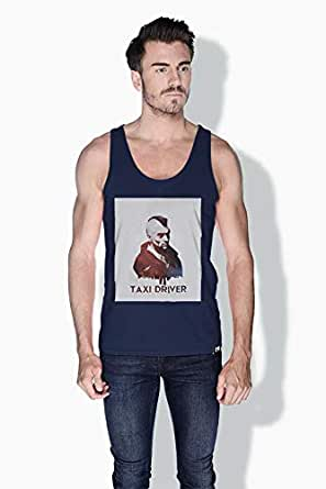 Creo Taxi Driver Movie Posters Tanks Tops For Men - Xl, Blue