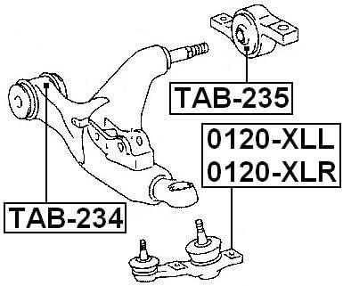 FEBEST 0120-XLL Left Lower Ball Joint