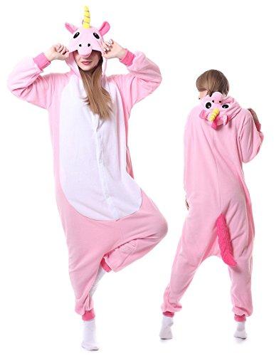 Animal Onesie Unicorn Cosplay Adult Pajamas Sleepwear Kigurumi Homewear Xmas Halloween Costume