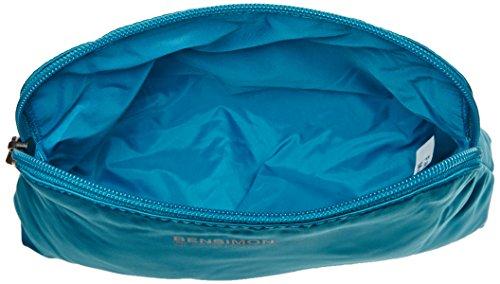 Bensimon - City Pocket, Carteras de mano Mujer, Turquoise, 5x15x22 cm (W x H x L)