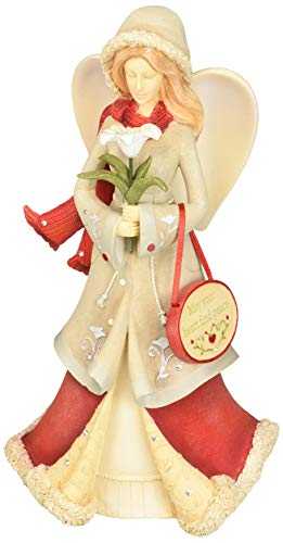 Enesco Christmas May Your Heart Find Peace Figurine, 7.91