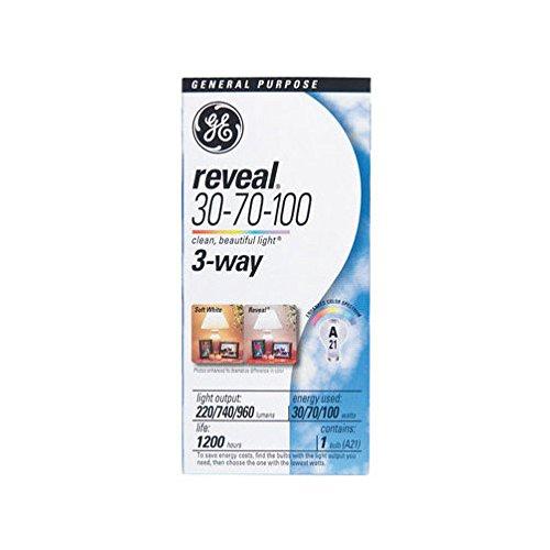 (Reveal Reveal 3 Way Light Bulb 100 W 220/740 Lumens Med Base Boxed)