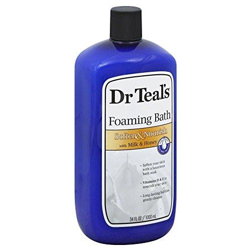 Dr. Teal's 34 oz. Soften & Nourish Foaming Bath with Milk & Honey