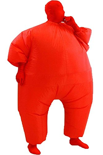 Inflatable Fat Chub Body Skin Suit Fancy Blow-Up Costume Adult Jumpsuit Cosplay (Big Inflatable Suit)