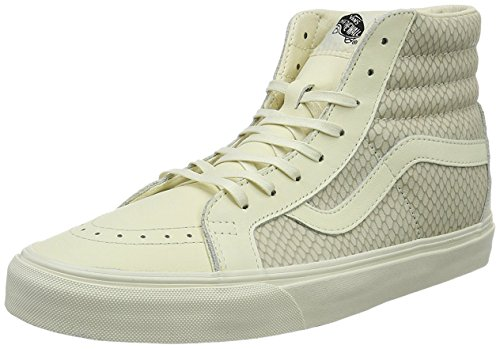 Vans Sk8-Hi Reissue, Baskets Montantes Femme beige clair