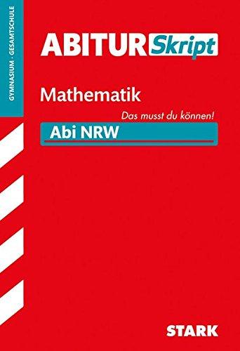 AbiturSkript - Mathematik - NRW