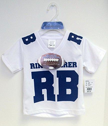 davids-bridal-ring-bearer-athletic-football-white-blue-jersey-polyester-boys-medium