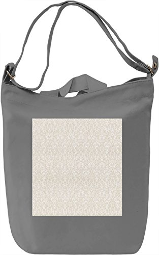 Vintage Print Borsa Giornaliera Canvas Canvas Day Bag| 100% Premium Cotton Canvas| DTG Printing|