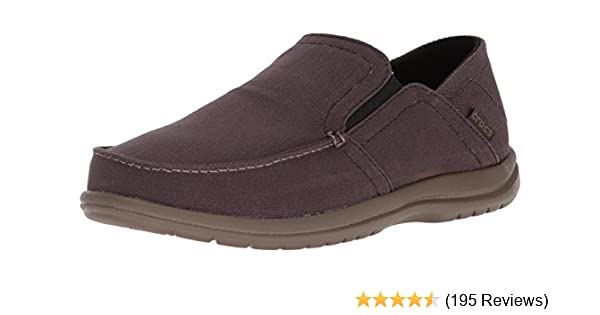 3fc05cfdfc7 Amazon.com   Crocs Men's Santa Cruz Convertible Slip-on Loafer ...