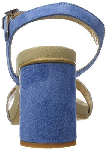 Donna Piu Damen Altea Slingback Sandalen Bleu (indaco/ciano 016)