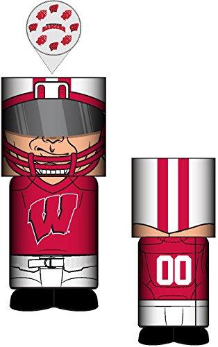 Wisconsin Badgers Lamp (NCAA Wisconsin Badgers Unisex Wisconsin Desk Lamp, One Size)