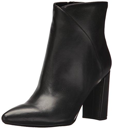 Nine West Women's Argyle Ankle Boot, Black Leather, 8 Medium US