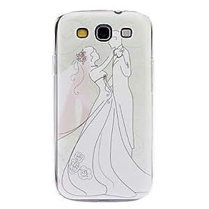 AES - Dreamlike Wedding Pattern Hard Case for Samsung Galaxy S3 I9300
