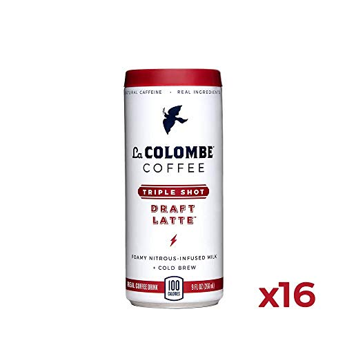 La Colombe Triple Draft Latte – 9 Fluid Ounce, 16 Count – 3 Shots Of Cold-Pressed Espresso and Frothed Milk – Made With…