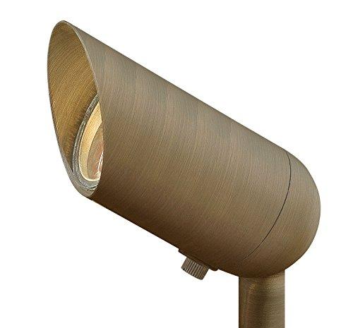(Hinkley Landscape Lighting Matte Bronze Cast Spot Light - Spotlight Important Landscape Features and Increase Home Security, 50 Watt Maximum Spot Light, Matte Bronze Finish, 1536MZ MR16)