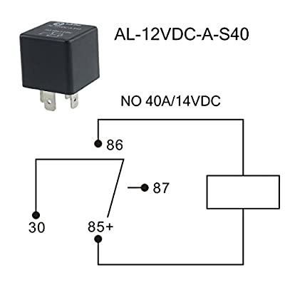Iztoss 21-Slot Relay Box 7 Relays,9 ATC/ATO Fuses Holder with Metallic Pins and relays fuses for Automotive and Marine Engine Bay: Automotive