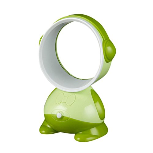 Sonmer Portable Desktop Bladeless Low Noise Air Flow Cooling Fan (Green) by Sonmer