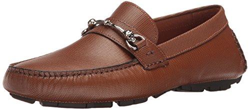 - Donald J Pliner Men's Hence Slip-on Loafer, Brandy Textured Calf, 13 M US